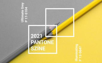 Pantone 2021 Ultimate Grey Illuminating