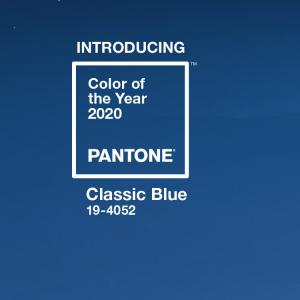 Pantone2020 Classic Blue Color of the Year